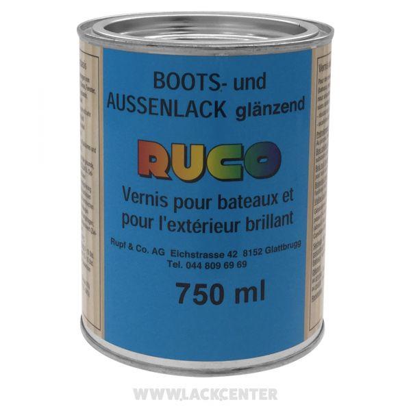 Boots- und Außenlack farblos
