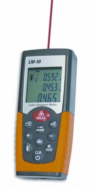 Laser-Distanzmessgerät gelb - IP 54