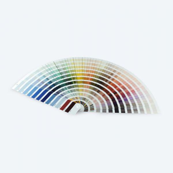 Farbfächer RT720 mit Farben für RUCO-Produkte