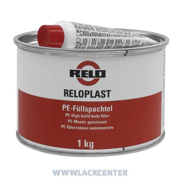 RELOPLAST 2K-Polyester-Feinspachtel grau inkl. rotem Härter