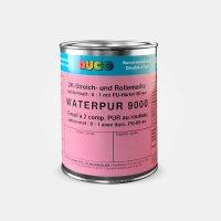 WATERPUR 9000 2K Streich- & Rollemaille Wasserlack 0,8 / seidenmatt