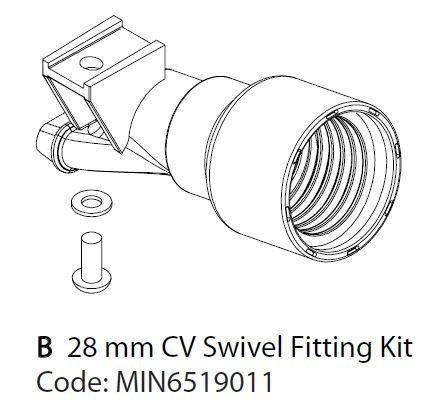 Mirka Absaugstutzen-Kit 28mm für CEROS