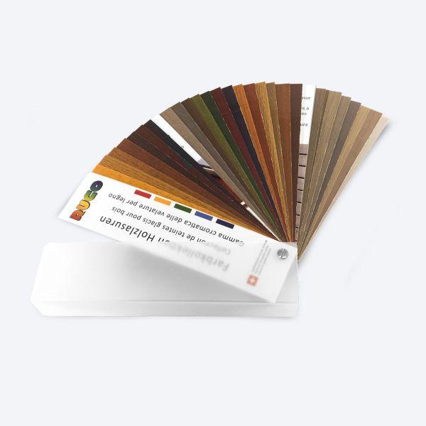 RUCO Farbkollektion Holzlasuren