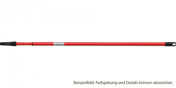 Teleskopstange, ausziehbar - Metall, 115 cm bis 206 cm