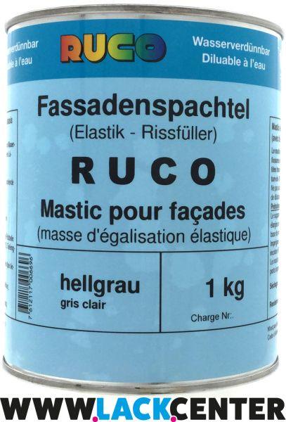 RUCO Fassadenspachtel - hellgrau