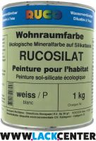 RUCOSiLAT mineralische Wohnraumfarbe 1 / stumpfmatt