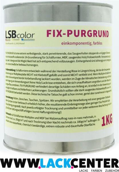 FiX Purgrund farblos