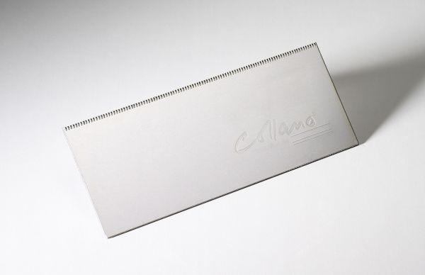 Zahnspachtel Aluminium 20cm